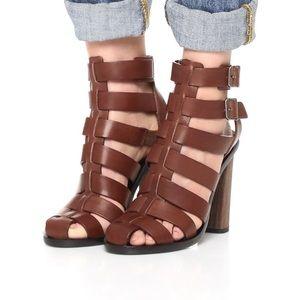 Vince heeled gladiator sandals